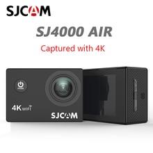 "SJCAM SJ4000 HAVA 4K Eylem Kamera Full HD 4K 30fps WIFI 2.0 ""Ekran Mini Kask Su Geçirmez Video kayıt Spor Kamera DV"