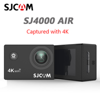 SJCAM SJ4000 AIR 4K Action Camera Full HD 4K 30fps WIFI 2.0 Screen Mini Helmet Waterproof Video Recording Sports Cam DV