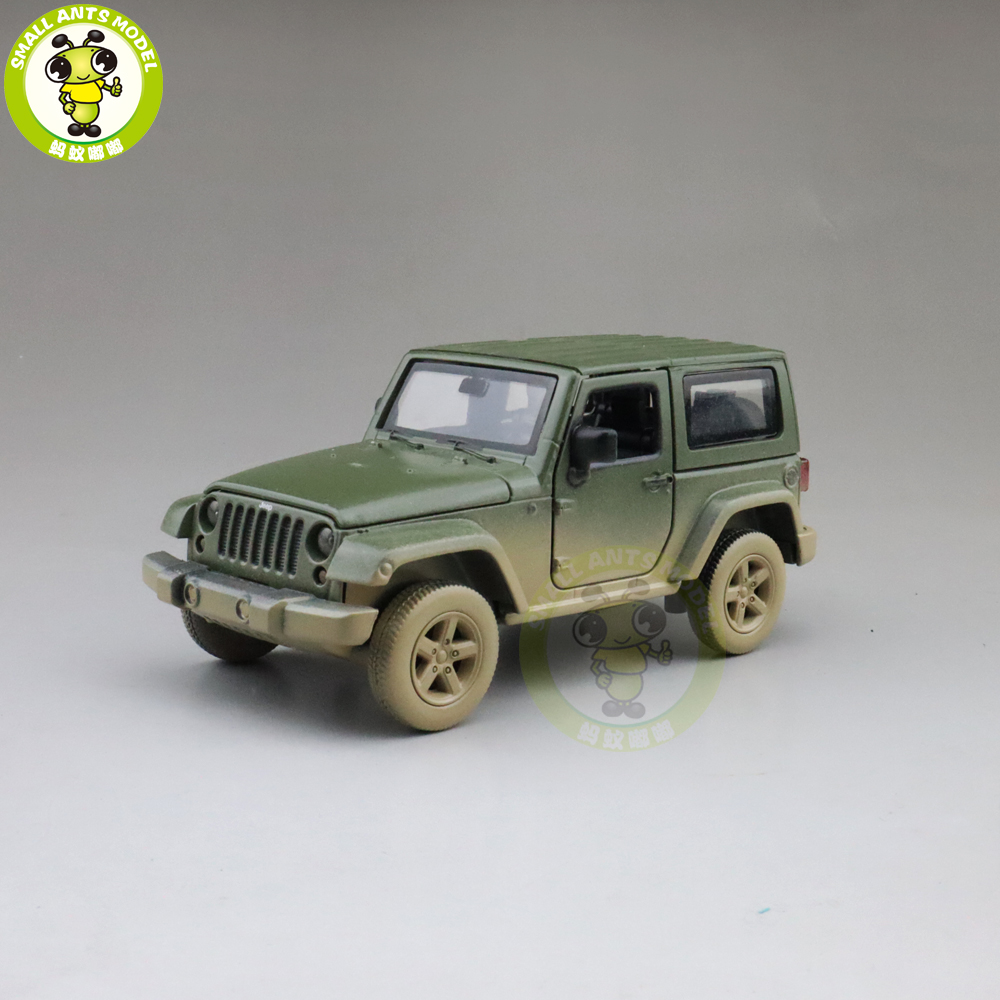 1/32 CAIPO WRANG LER SUV Diecast Model Toys SUV CAR For Kids Children Sound Lighting Pull Back Gifts