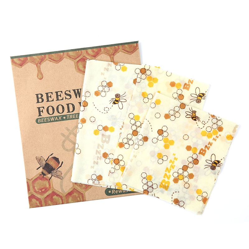 3PCS Reusable Silicone Wrap Seal Food Fresh Keeping Wrap Lid Cover Stretch Vacuum Food Wrappers Beeswax Cloth Kitchen Tools