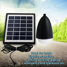 Portability Solar Wall Light Floodlights Automatic Induction Landscape Lamp Home Lighting Outdoors Tent Picnic LED Light Bulb