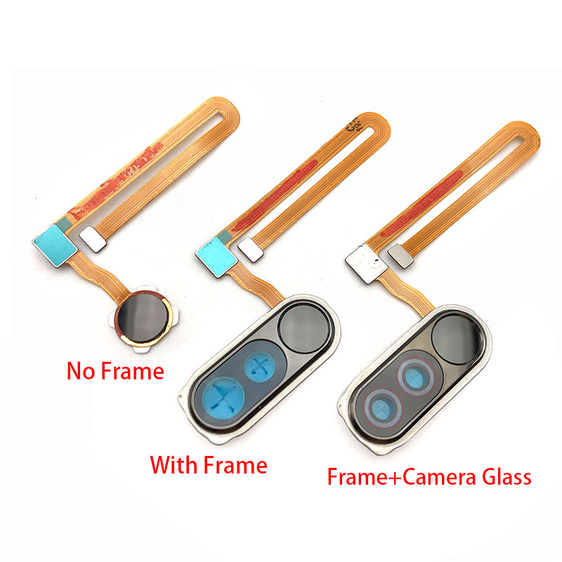 Fingerprint Sensor Touch ID Scanner Home Menu Button Flex Cable Ribbon For Xiaomi Mi Poco F1 Mi Pocophone F1 Repair Parts