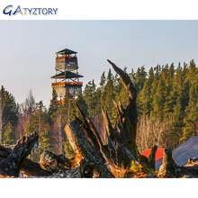 Gatyztory Раскрашивание по номерам деревянного племени для взрослых