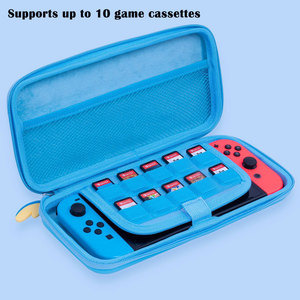 Image 2 - Nintend מתג נייד מקרה כחול חמוד אחסון תיק PU עמיד למים כיסוי מעטפת עבור Nintendo מתג לייט משחק קונסולת אבזרים