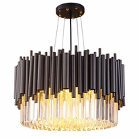 Modern crystal chandelier luxury living room dining crystal chandelier room lamp Villa lights Decorate your beautiful home