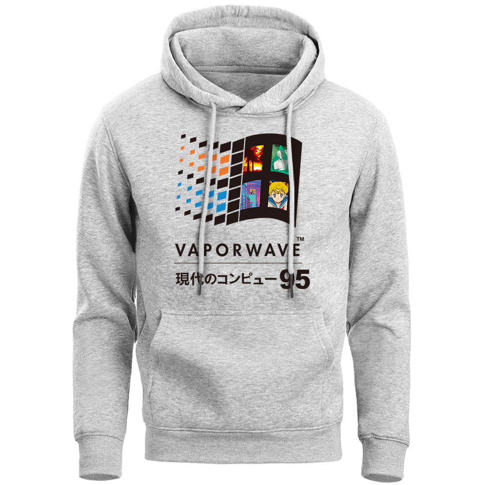 Vaporwave Vintage Hoodies Japanese Anime Coat Aesthetic Thick Sweatshirt Mens Funny Hip Hop Zipper Jacket Harajuku Streetwear Buy At The Price Of 24 37 In Aliexpress Com Imall Com