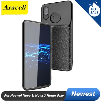 For Huawei Nova 3i Nova 3 Honor Play Battery Case 2020 Smart Capa Cover Power Bank Battery Charger Case Cover