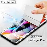 Copertura completa Idrogel Pellicola Per Xiaomi Mi Nota 10 A3 8 Lite Pro Mi10 5G Protezione Dello Schermo A2 UN 2 3 Lite Mix3 Non di Vetro di Protezione