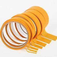 18 м 244 высокотемпературная тонкая линия, плоская бумага, маскирующая лента для автомобильной покраски, Электронная Защитная маскировка, 2 мм/3 мм/6