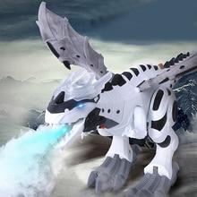 Electric Toy Fire Breathing Water Spray Electric Walking Light Sound Dragon Toy Fire Breathing Water Spray Dinosaur Toy