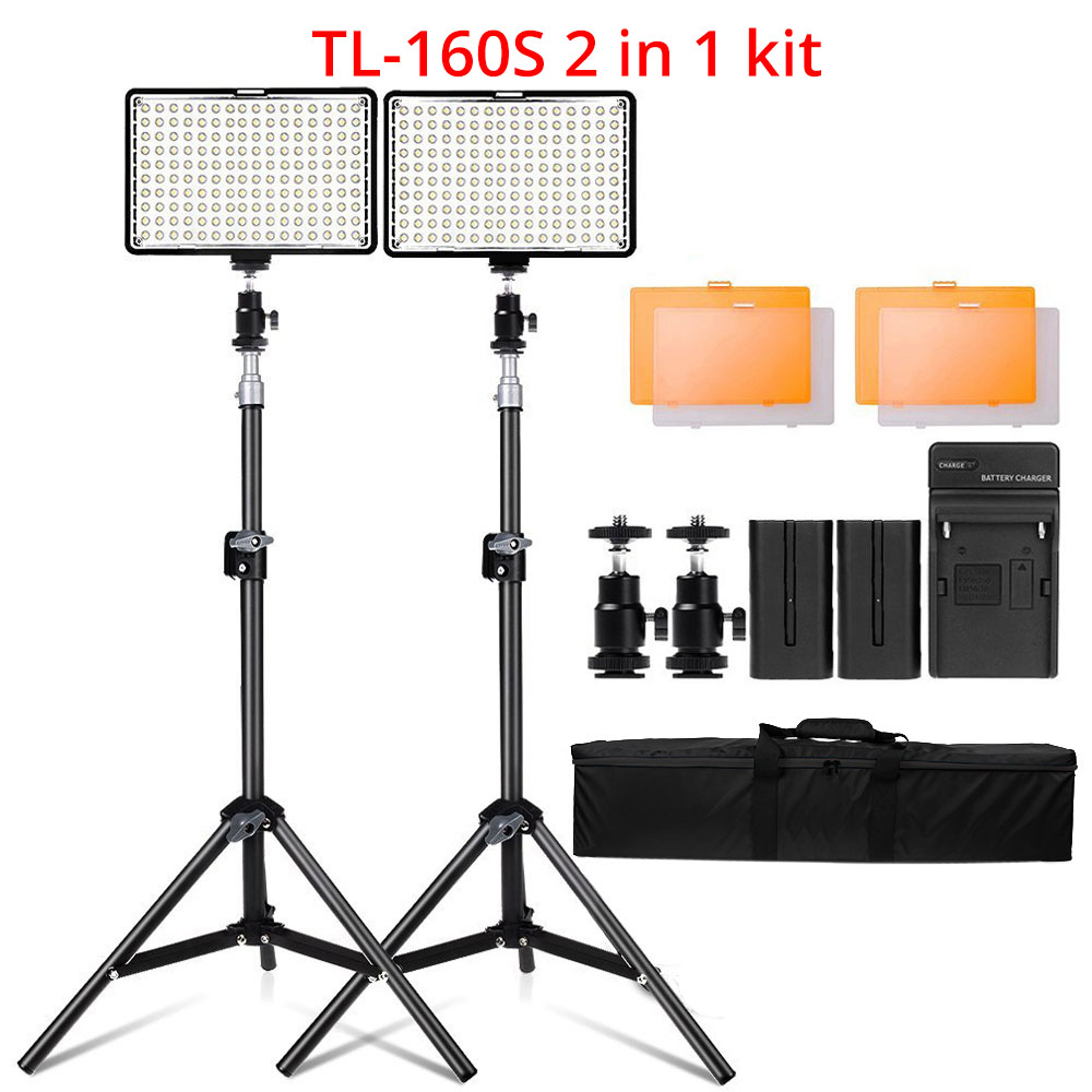 Ring Light LED Video Light Lamp with Tripod Stand 6