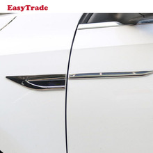 Car Side Fender 3D Vent Air Sticker Decal Automobile Engine Cover Stickers For Volkswagen vw TIGUAN MK1 Accessrioes