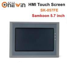 Samkoon SK-057FE hmi tela de toque 5.7 polegada usb host interface da máquina humana exibição
