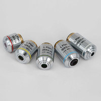 Long Working Distance Infinity Plan Objective Lens 5X 10X 20X 50X for Metallurgical Microscope