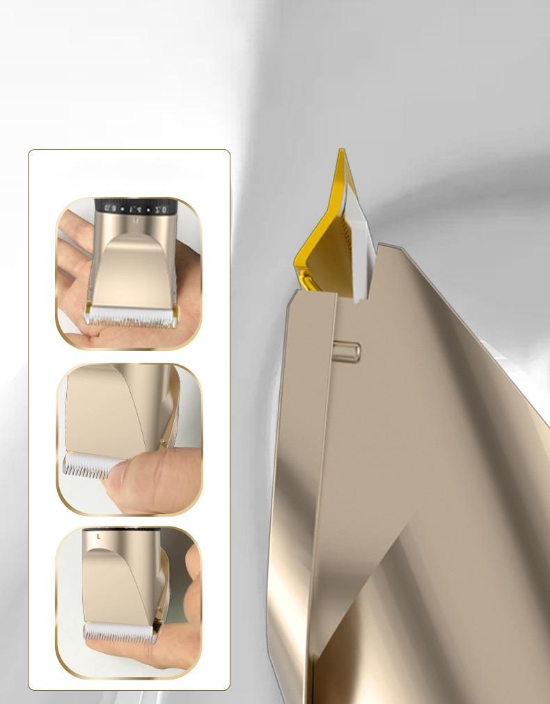 Clippers de cabelo elétrico clipper barbeiro trimmer