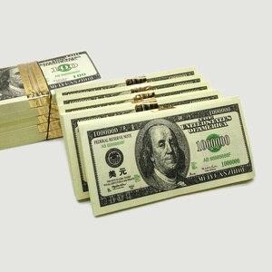 240Pcs $100 Dollar Random Million Joss Paper Heaven Bank Money Notes Ancestor Ghost Hell Feng Shui Pray Peace Health Good Luck(China)