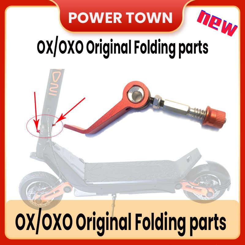 Оригинальные аксессуары для электрического скутера Oxo Ox, складные детали, быстроразъемный ключ, БЫСТРОРАЗЪЕМНАЯ гайка