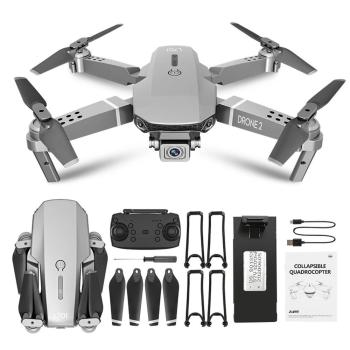 Professional E68 RC Helicopter 4K Four-axis Aircraft Professional Drone With Camera HD 2.4G WIFI FPV Quadcopter Drone Kids Toys image