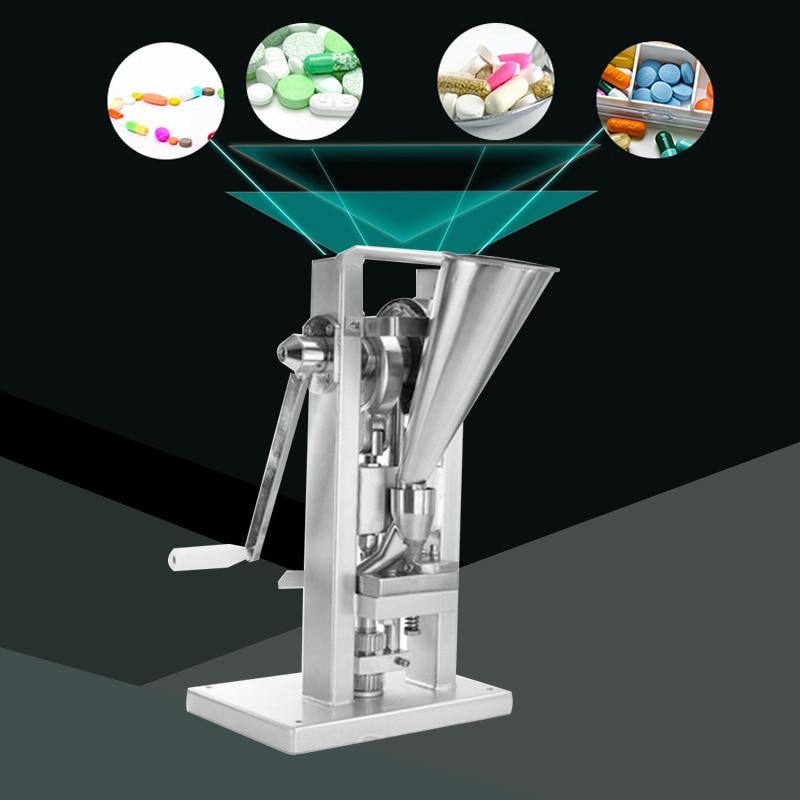TDP-O Manual Single Punching Machine Chinese Herbal Medicine Table Machine Powder Hand Press Tablet And Granulation Tools
