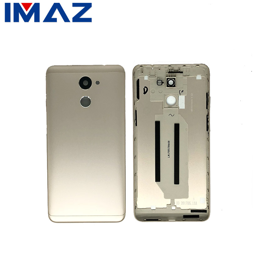 IMAZ For Huawei Y7 Prime 2017 Back Battery Cover Rear Door Housing Case TRT L21 L21A LX2 LX1 LX3 Y7 Prime Y7 2017 Battery Cover