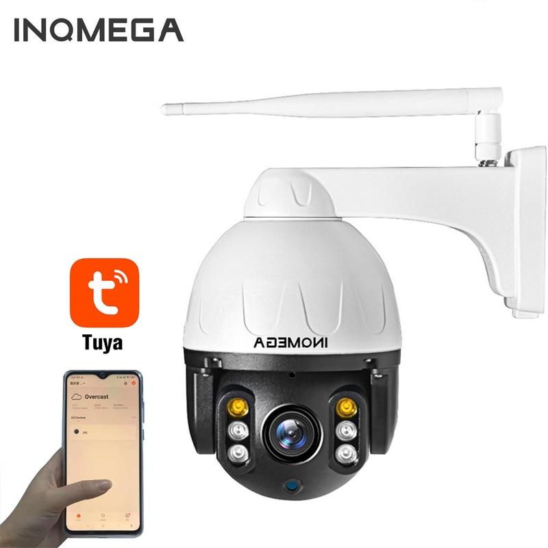 1080P Tuya IP Camera WiFi Auto Tracking Outdoor Onvif Waterproof Mini Speed Dome PTZ Camera P2P CCTV Security Camera INQMEGA