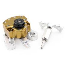 Steering Damper For DUCATI MONSTER 796/1100/S/EVO Motorcycle Accessories Adjustable Stabilizer Mount Bracket Kit Reversed Safety