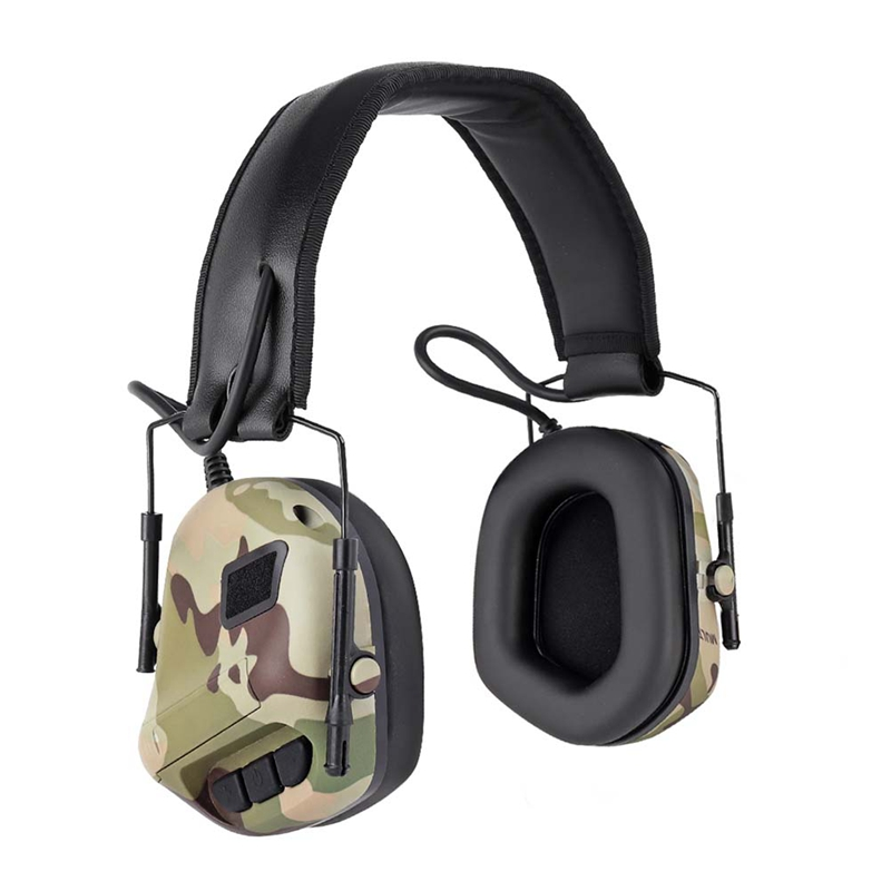 Hot Outdoor Headphone Noise Cancellation Headset Hunting Shooting Game Accessories