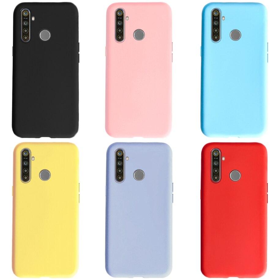 Для OPPO Realme 6 Pro Чехол Realme 5 Чехол конфетный Мягкий силиконовый чехол для телефона чехол для Realme 6 Pro 5 5i 6i 3i Realme 3 Pro RealmeC3 чехол