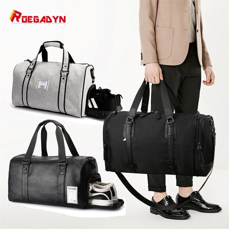 Men's Outdoor Handbag Travel Large-capacity Luggage Short-distance Travel Bag Business Gym Bag