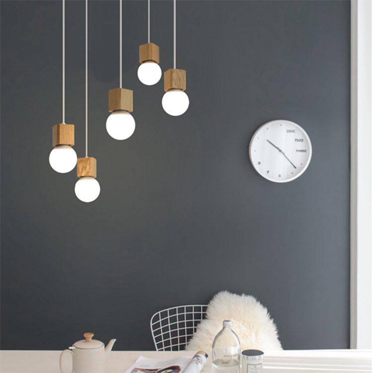 pingente 85-265 v pendurado pingente lâmpada barra