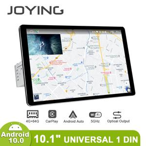 """Image 5 - 1280*800 1Din 10.1 """"Universele Android10 Auto Stereo Radio Dsp Carplay Dsp Spdif Subwoofer 5Gwifi Optische Uitgang bluetooth 5.1 Dab"""