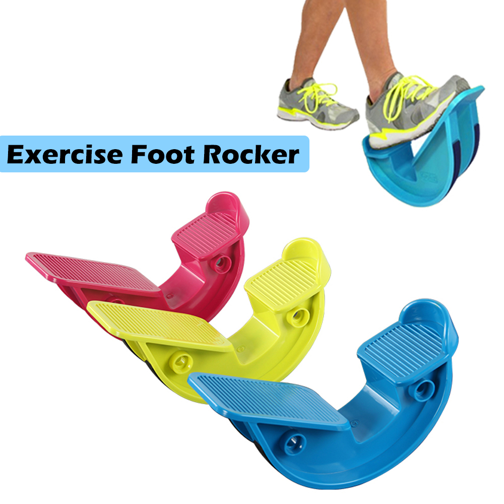 Foot Rocker Calf Ankle Stretcher Plantar Fasciitis Rocker Pain Relief Calf Stretching Plate Exercise Home Fitness Gym Equipment image