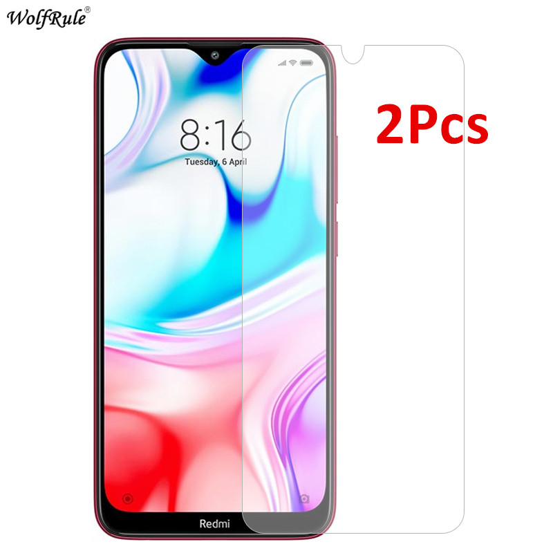 2Pcs Protective Glass For Xiaomi Redmi 8 Screen Protector Tempered Glass For Xiaomi Redmi 8 Glass Phone Film For Xiaomi Redmi 8