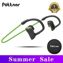 Headphones Bluetooth Pottnar with Handsfree Mic IPX7 Running Sports Waterproof New Wireless