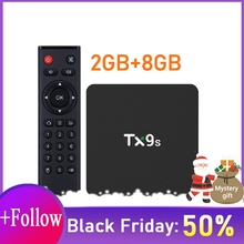 S912 3D 4 K Android TX9s Tv Box Set Top Box 2.4G Wifi Google Box Play Store snelle Set Top Box 2g 8g