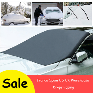 Image 1 - 210*120cm Automobile Magnetic Sunshade Cover Car Windshield Snow Sun Shade Waterproof Protector Cover Car Front Windscreen Cover