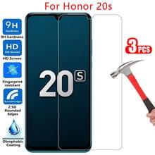 Koruyucu temperli cam için honor 20 s ekran koruyucu üzerinde honor 20 s onur onor hono 20 s s20 6.15 rusya filmi honer20s onor20s
