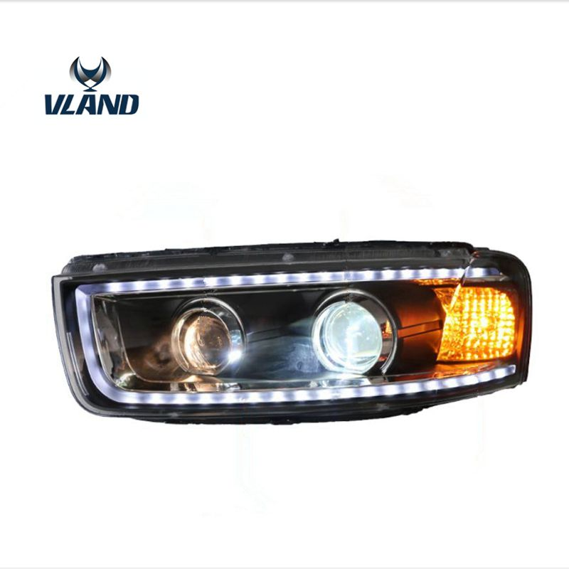 VLAND car styling head lamp for Captiva headlight 2012 2017 with LED day running light+turn signal