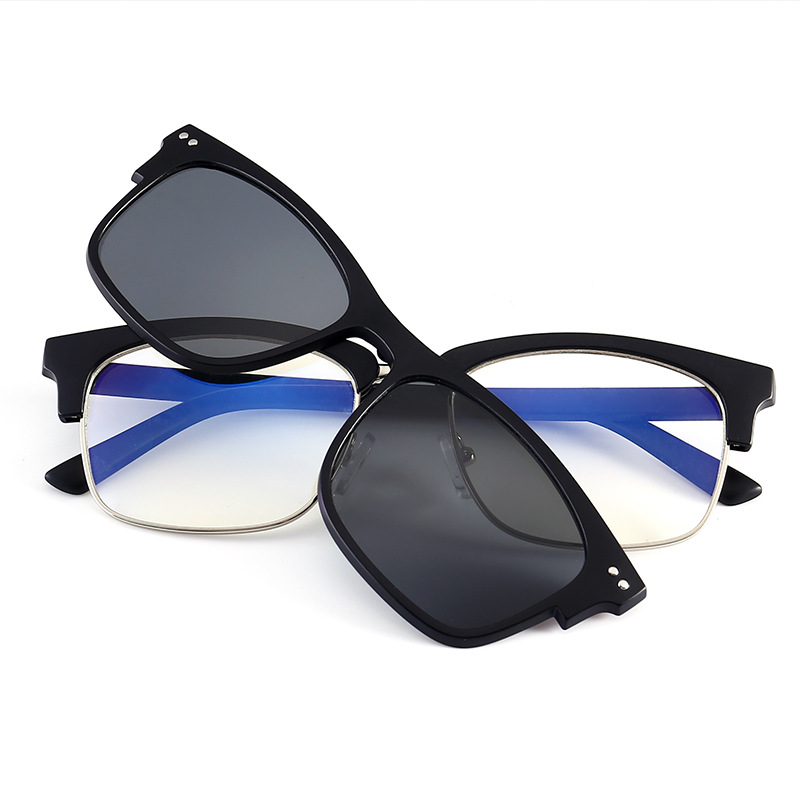 2020 New Arrival Computer Glasses Men Women With Clip On Lens Polarized Glasses Antiblue Ray Radiation-resistant Anti-blue