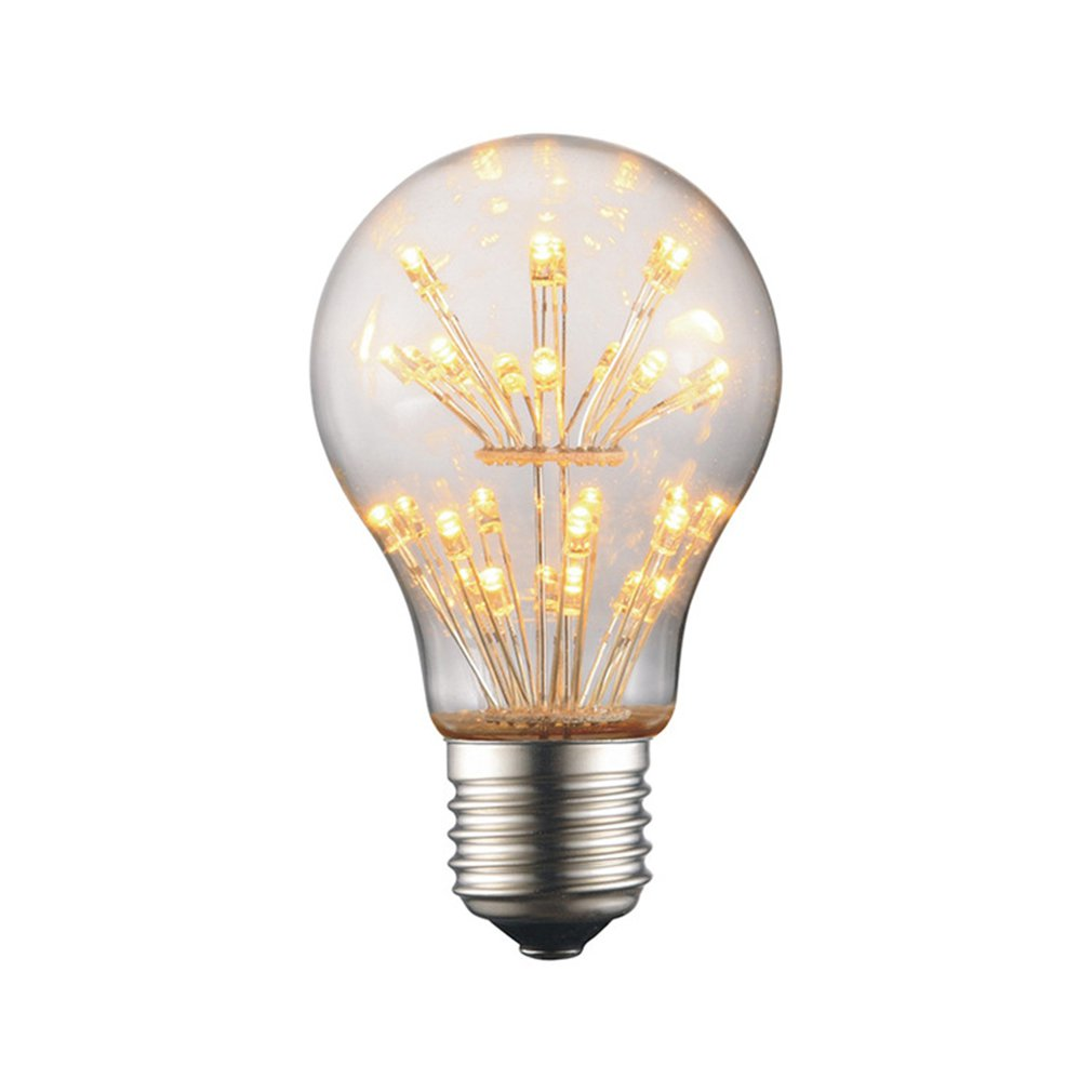 Antique Retro Vintage Led Stars Bulb E27 Incandescent Bulbs 2300K Squirrel-Cage Warm White Filament Bulb