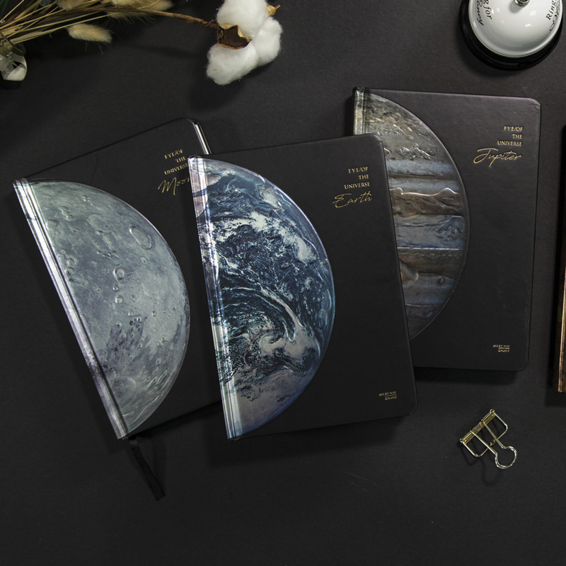 2020 VR Universe Book Starry Sky Notebook VR Planner For Venus Jupiter Earth Moon Science And Technology Book