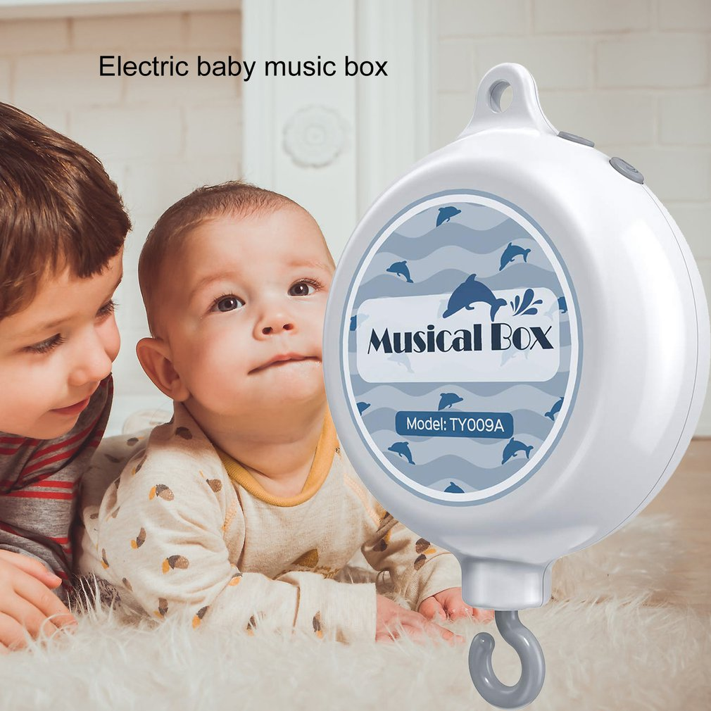 Baby Remote Control Bed Bell Music Box Baby Remote Control Bed Bell Hang Piano Remote Control Music Box Creative Gift