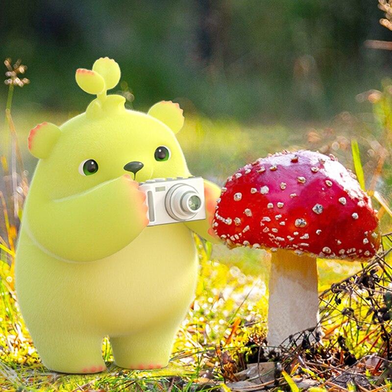 Green White Dooro Bear Children Digital Camera Animal Cartoon Toys HUMOR TED