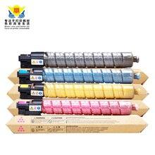 Цветной тонер JIANYINGCHEN для Ricohs MP C2003 C2503 C2011 DSC1025 1020 1120 (4 шт./лот) с универсальным чипом