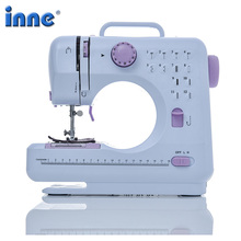 Sewing-Machine Crafting Presser Overlock Foot-Pedal-Beginners 12-Stitches Electric Household
