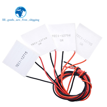 TEC1 12705 Thermoelectric Cooler אלקטריים TEC1 12706 TEC1 12710 TEC1 12715 40*40MM 12V Elemente מודול