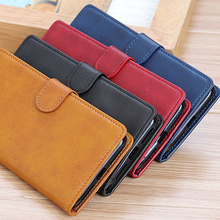 Luxury Retro Leather Wallet Stand Card Slots Flip Cover Case for LG W30 W10 Stylo 5 Q60 K40 K50 G8 Thinq G8S V50 ThinQ 5G