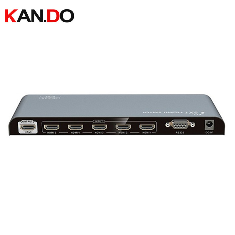 LKV318-V2.0 1x8 HDMI Splitter With 4KX2K@60Hz HDMI Splitter Distributes 1 Way HDMI Signal From STB,DVD Blu-ray Players Or PS3
