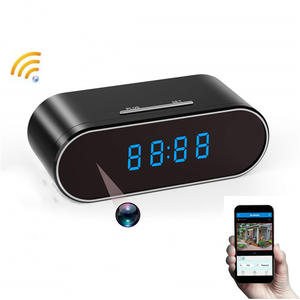 WIFI Mini Camera Nanny-Clock Remote-Monitor Motion-Sensor Time-Alarm-P2p Night-Vision