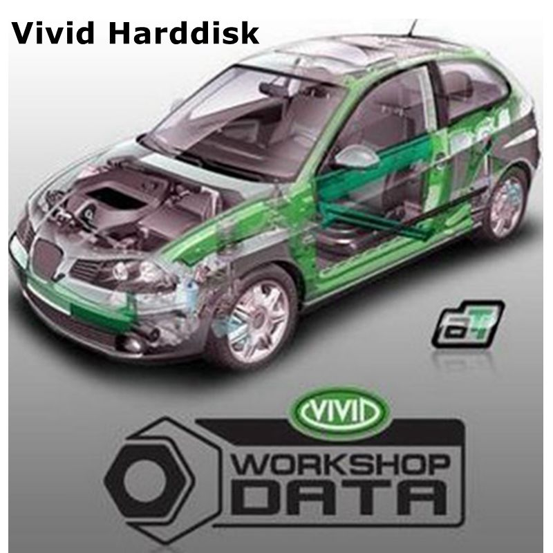 2020 Hot Auto motive Vivid Workshop data car Auto Repair Software Up To 2010 Vivid Workshop DATA 10 2 Free shipping